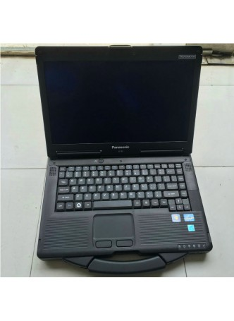 Panasonic CF53 laptop installed Heavy Duty Diagnostic software package